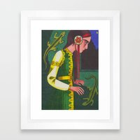 The Mistress of the Copper Mountain Framed Art Print