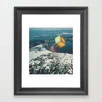 Atomic Winter Framed Art Print