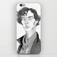 Benedict Cumberbatch - S… iPhone & iPod Skin