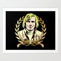 James Hunt Art Print