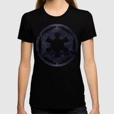 Star Wars Galactic Empir… Womens Fitted Tee Black SMALL