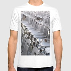 Opportunity Mens Fitted Tee SMALL White