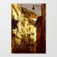 Alfama... Canvas Print