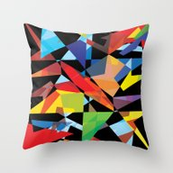 Throw Pillow featuring Colored Soul by Comma