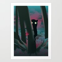 I Have A Gift For You… Art Print