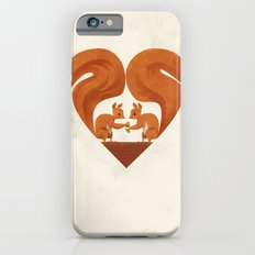 Love Heart Squirrels iPhone 6s Slim Case