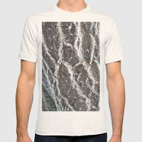 BARK Mens Fitted Tee Natural SMALL