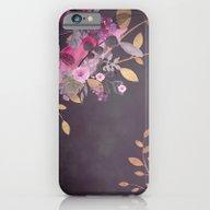 FLOWERS & GOLD  iPhone 6 Slim Case