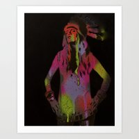Woman 2 Of 2 Art Print