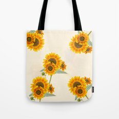Sunflowers paterns Tote Bag