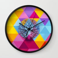 Deer-tree Wall Clock