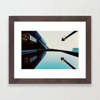 Endless Reflections.  Framed Art Print