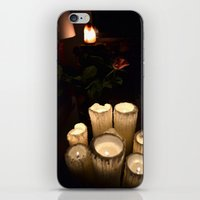 Melting Candles iPhone & iPod Skin