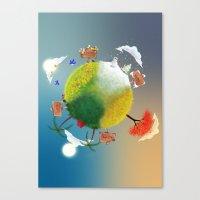 Season Canvas Print