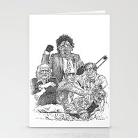 Texas Chainsaw Massacre 2 Stationery Cards