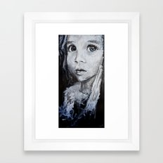 She Knows, She Knows Framed Art Print