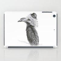 Fancy Hornbill iPad Case