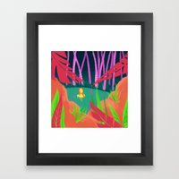 Hidden Lake Framed Art Print