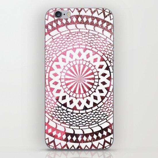 Nebula Snake Mandala iPhone & iPod Skin