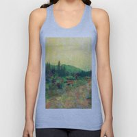 Miles To Go Before I Sle… Unisex Tank Top