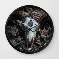 Goat Wall Clock