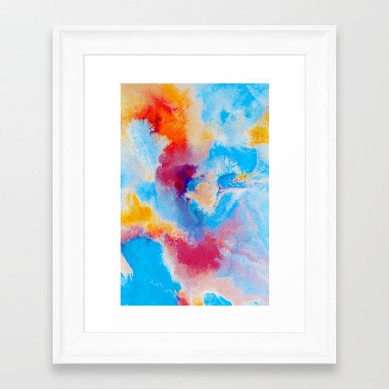 Meld Framed Art Print