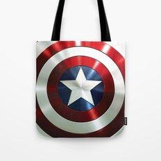 Captain Steve Rogers Shields  Tote Bag