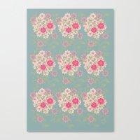 Flower Pad Canvas Print