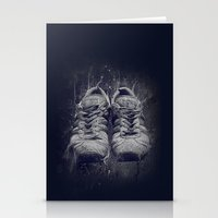 DARK SHOES Stationery Cards