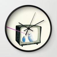 Talk Show Wall Clock