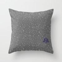 Trail Status / Stone Gre… Throw Pillow