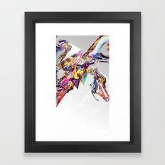 Spiral Static Framed Art Print