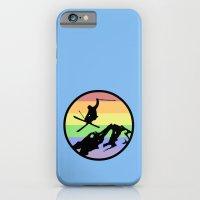 skiing 2 iPhone 6 Slim Case