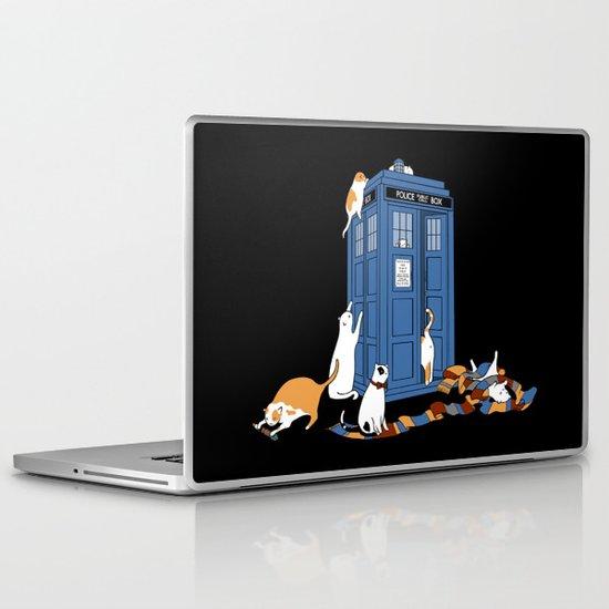 Who Cats Laptop & iPad Skin