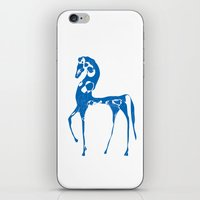 Blue Horse iPhone & iPod Skin