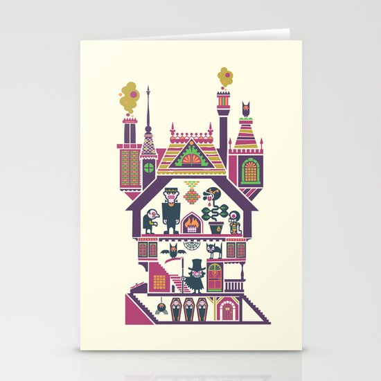 House Of Freaks Stationery Card
