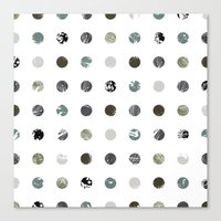 Graphic_Dots Canvas Print