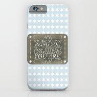 iPhone & iPod Case featuring Unprecedented by Sarah Turbin