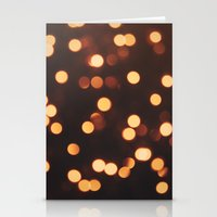 Christmas Lights II Stationery Cards