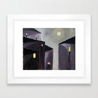 Vicolo (Alley) Framed Art Print
