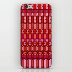 Metal finds pattern iPhone & iPod Skin