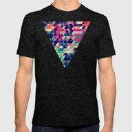 Atym Mens Fitted Tee Tri-Black SMALL