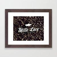 LAKE MILLE LACS Framed Art Print