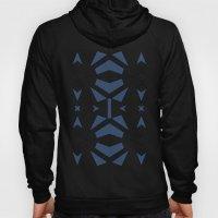 Triangle Tribal #2 Navy Hoody