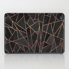 Shattered Black / 2 iPad Case
