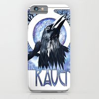 The Raven and The Moon iPhone 6 Slim Case
