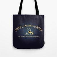 Great Detectives Tote Bag