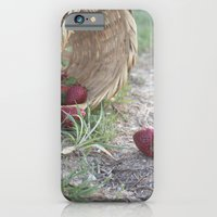 iPhone & iPod Case featuring strawberries by terciopelogris