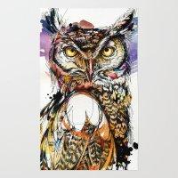 Owl Sounds Rug
