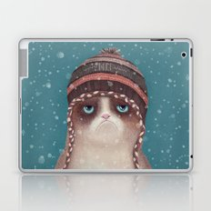 Under snow Laptop & iPad Skin